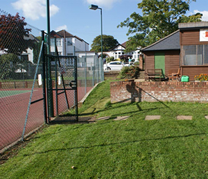 Shooters Hill - ramped access to tennis courts