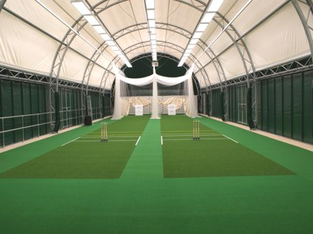 Indoor Cricket Practice Facility