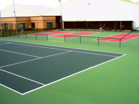 Poraflex Tennis Court